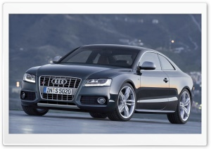Audi S5 Coupe Car 3 HD Wide Wallpaper for 4K UHD Widescreen desktop & smartphone