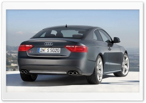 Audi S5 Coupe Car 5 HD Wide Wallpaper for Widescreen