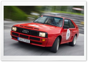 Audi Sport Quattro Car HD Wide Wallpaper for Widescreen