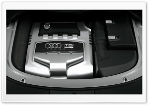 Audi TDI Engine HD Wide Wallpaper for Widescreen