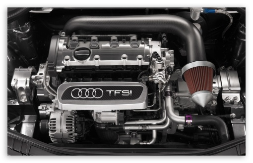 Audi TFSI Engine HD wallpaper for Wide 16:10 5:3 Widescreen WHXGA WQXGA WUXGA WXGA WGA ; HD 16:9 High Definition WQHD QWXGA 1080p 900p 720p QHD nHD ; Mobile 5:3 16:9 - WGA WQHD QWXGA 1080p 900p 720p QHD nHD ;