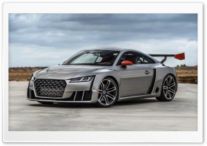 Audi TT Coupe Concept 2015 HD Wide Wallpaper for 4K UHD Widescreen desktop & smartphone