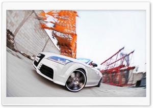 Audi TT RS Roadster HD Wide Wallpaper for Widescreen