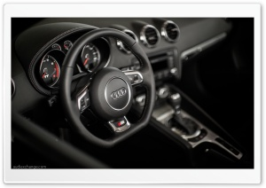 Audi TT S-line Interior HD Wide Wallpaper for Widescreen