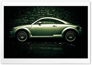 Audi TT Side HD Wide Wallpaper for Widescreen