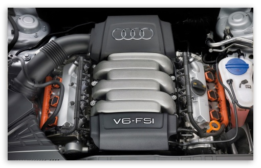 Audi V6 FSI Engine HD wallpaper for Wide 16:10 5:3 Widescreen WHXGA WQXGA WUXGA WXGA WGA ; HD 16:9 High Definition WQHD QWXGA 1080p 900p 720p QHD nHD ; Mobile 5:3 16:9 - WGA WQHD QWXGA 1080p 900p 720p QHD nHD ;