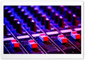 Audio Mix HD Wide Wallpaper for Widescreen