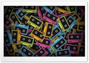 Audio Tapes HD Wide Wallpaper for Widescreen