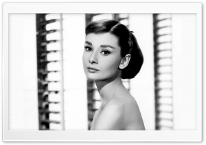 Audrey Hepburn HD Wide Wallpaper for Widescreen