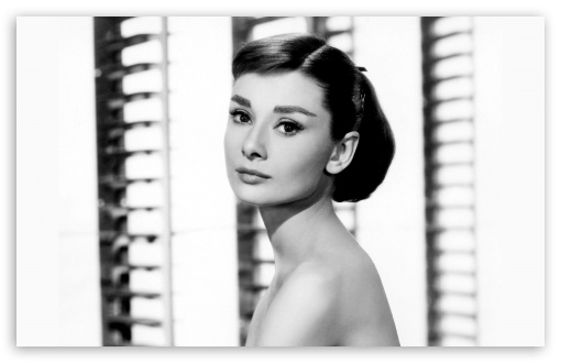 Download Audrey Hepburn UltraHD Wallpaper