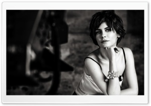 Audrey Tautou HD Wide Wallpaper for Widescreen