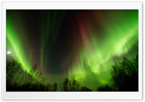 Aurora - Alaska HD Wide Wallpaper for 4K UHD Widescreen desktop & smartphone