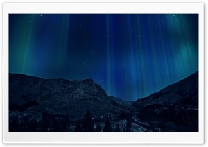 Aurora background HD Wide Wallpaper for 4K UHD Widescreen desktop & smartphone