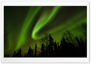 Aurora Borealis - Alaska HD Wide Wallpaper for Widescreen