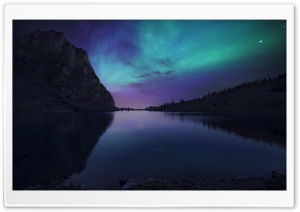 Aurora Borealis Atmosphere HD Wide Wallpaper for 4K UHD Widescreen desktop & smartphone