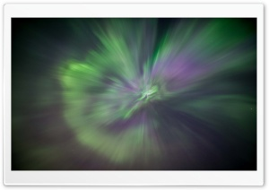 Aurora Burst - Canada HD Wide Wallpaper for Widescreen