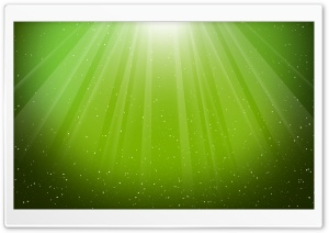 Aurora Burst Lime Green HD Wide Wallpaper for Widescreen