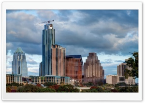 Austin Skyline HD Wide Wallpaper for Widescreen