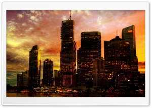 Australia City HD Wide Wallpaper for Widescreen