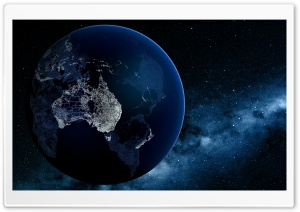 Australia Seen From Space HD Wide Wallpaper for Widescreen