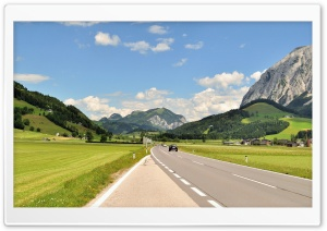 Austria Road HD Wide Wallpaper for Widescreen