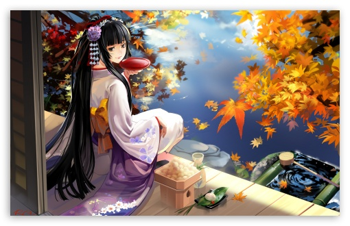 Autumn Anime Scenery ❤ 4K UHD Wallpaper for Wide 16:10 Widescreen WHXGA WQXGA WUXGA WXGA ; Standard 4:3 5:4 3:2 Fullscreen UXGA XGA SVGA QSXGA SXGA DVGA HVGA HQVGA ( Apple PowerBook G4 iPhone 4 3G 3GS iPod Touch ) ; iPad 1/2/Mini ; Mobile 4:3 3:2 5:4 - UXGA XGA SVGA DVGA HVGA HQVGA ( Apple PowerBook G4 iPhone 4 3G 3GS iPod Touch ) QSXGA SXGA ;
