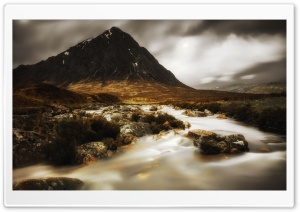 Autumn, Buachaille Etive Mor Mountain in Scotland Ultra HD Wallpaper for 4K UHD Widescreen desktop, tablet & smartphone