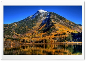 Autumn In Mountains HD Wide Wallpaper for Widescreen