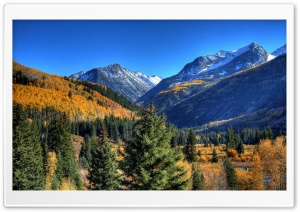 Autumn In Mountains 1 HD Wide Wallpaper for Widescreen