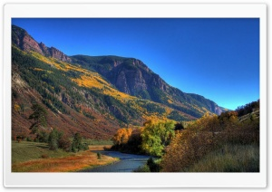 Autumn In Mountains 3 HD Wide Wallpaper for Widescreen