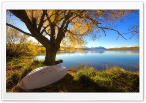Autumn Lake Ultra HD Wallpaper for 4K UHD Widescreen desktop, tablet & smartphone