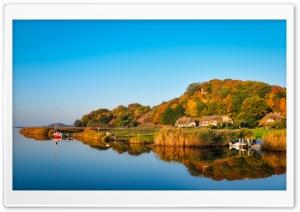 Autumn Reflection Ultra HD Wallpaper for 4K UHD Widescreen desktop, tablet & smartphone
