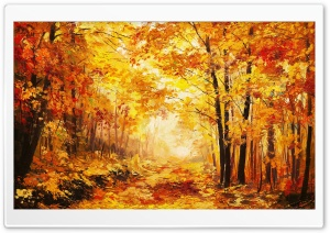 Autumn, Trees HD Wide Wallpaper for Widescreen
