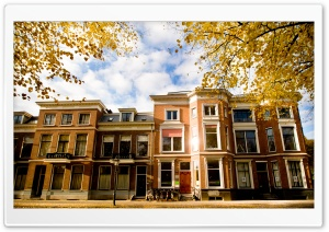 Autumn, Utrecht, Netherlands HD Wide Wallpaper for Widescreen