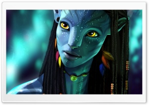 Avatar 2 Neytiri 2017 HD Wide Wallpaper for 4K UHD Widescreen desktop & smartphone