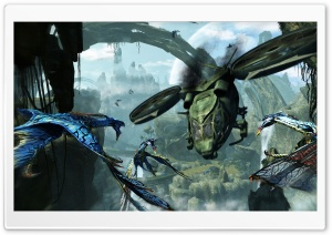 Avatar 3D 2009 Game Screenshot 3 HD Wide Wallpaper for Widescreen