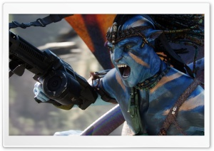 Avatar 3D 2009 Movie Screenshot HD Wide Wallpaper for Widescreen