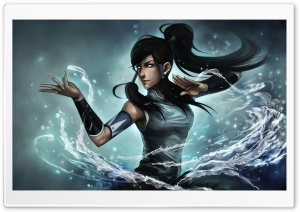 Avatar: The Legend of Korra, Water Element HD Wide Wallpaper for Widescreen