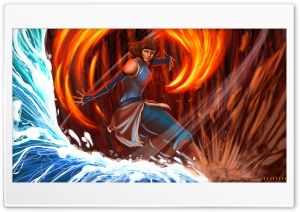 Avatar Korra Ultra HD Wallpaper for 4K UHD Widescreen desktop, tablet & smartphone