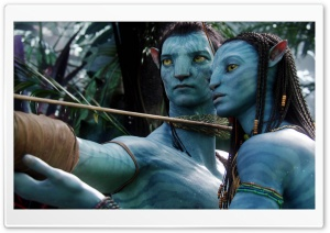 Avatar Movie Characters HD Wide Wallpaper for Widescreen