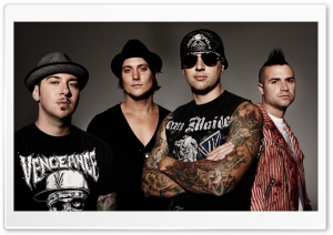 Avenged Sevenfold HD Wide Wallpaper for Widescreen