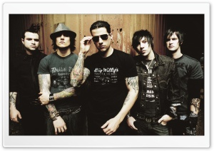 Avenged Sevenfold Band Members HD Wide Wallpaper for Widescreen