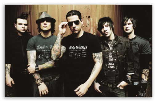 Avenged Sevenfold Band Members HD wallpaper for Wide 16:10 5:3 Widescreen WHXGA WQXGA WUXGA WXGA WGA ; Mobile 5:3 16:9 - WGA WQHD QWXGA 1080p 900p 720p QHD nHD ;