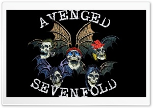 Avenged Sevenfold Logo HD Wide Wallpaper for 4K UHD Widescreen desktop & smartphone