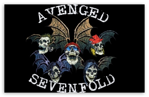 Avenged Sevenfold Logo Ultra Hd Desktop Background Wallpaper