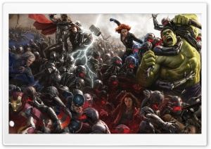 Avengers Age of Ultron HD Wide Wallpaper for 4K UHD Widescreen desktop & smartphone