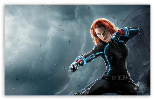 Black Widow Avengers Age Of Ultron Wallpaper