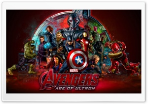Avengers Age Of Ultron Superheroes HD Wide Wallpaper for Widescreen