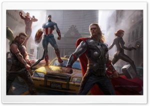 Avengers Assemble !!! HD Wide Wallpaper for Widescreen