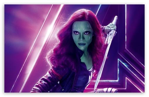 Avengers Infinity War 2018 Thanos 4k Uhd 3 2 3840x2560: Avengers Infinity War 2018 Movie Gamora 4K HD Desktop